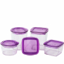 Circle Crystal Container Set