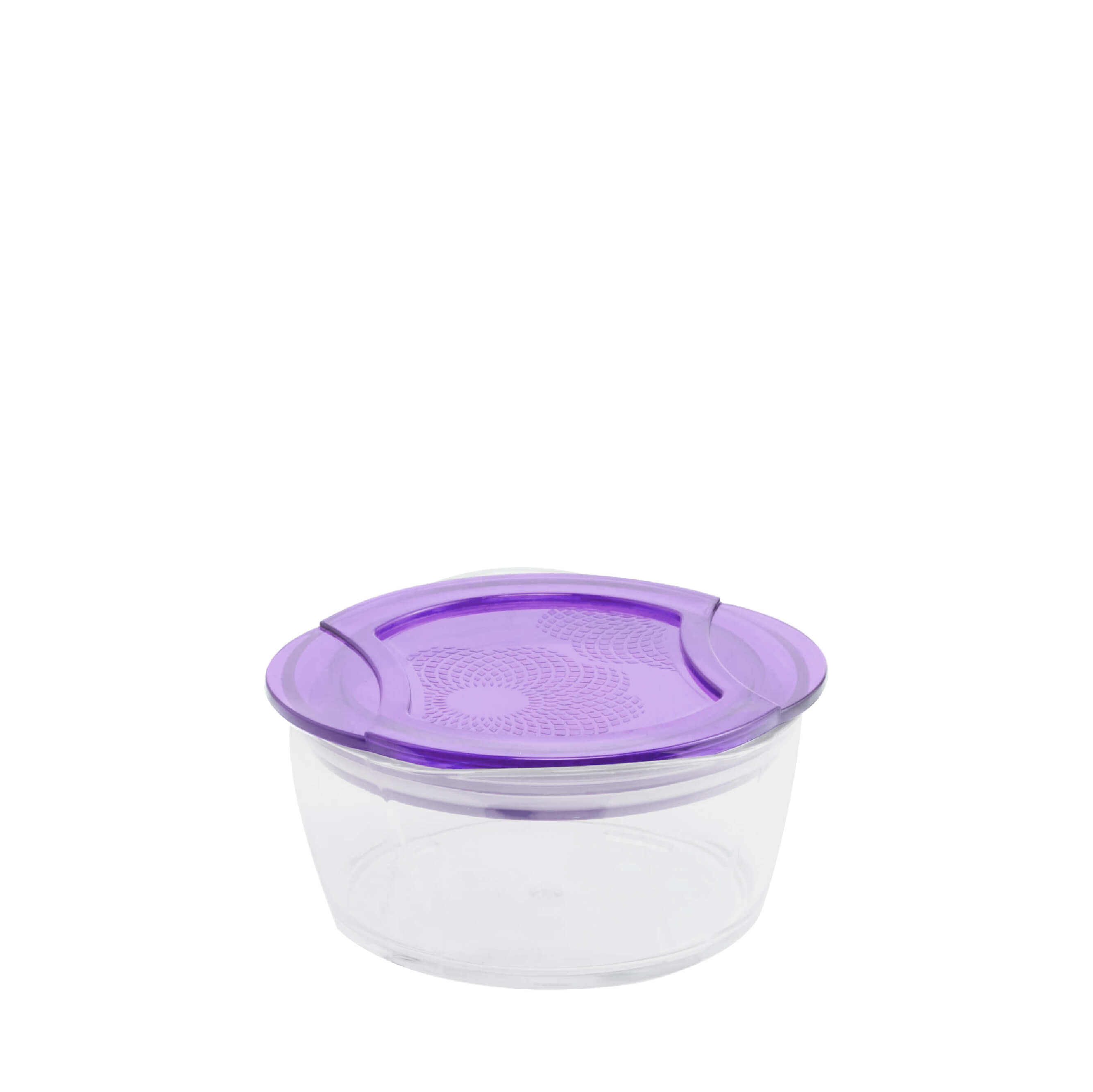 Circle Crystal Container L1176