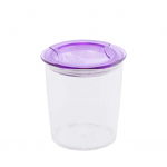 Circle Crystal Container L1178