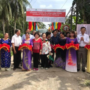 Inaugurated Channel Nine Bridge In Ben Tre