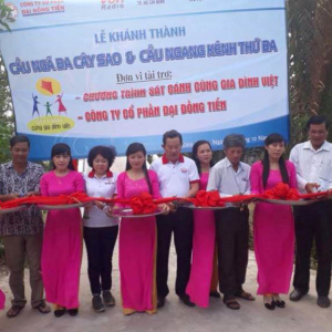Inaugurated Trifurcation Star Tree And Horizontal Third Channel In Kien Giang