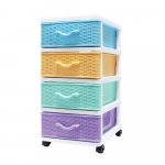 Knit Cabinet - 4 Colors & 4 Drawer