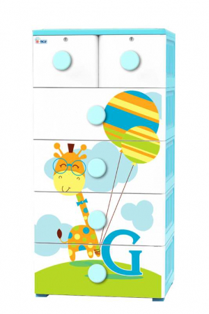 Fairy Cabinet - Giraffe With Balloon