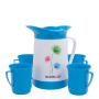 Thermal Bottle And Glass Set